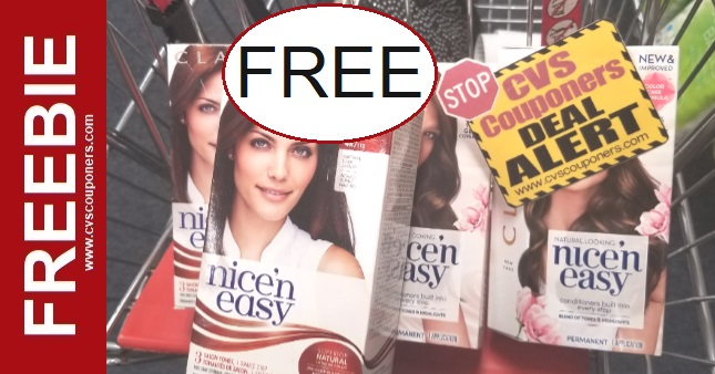 FREE Clairol Hair Color CVS Deals
