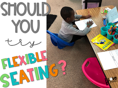first grade flexible seating, flexible seating for students