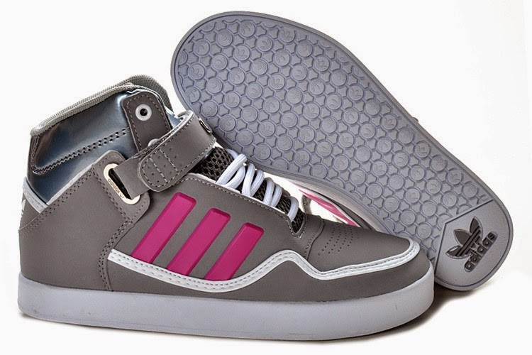 Adidas Shoes For Girls High Tops In Gray ...