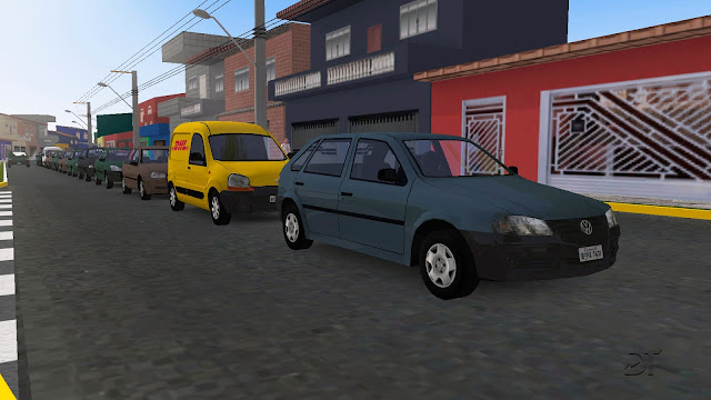 OMSI 2 - Pack de carros brasileiros para o tráfego (AI)