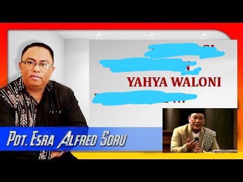 Debat Terbuka Pdt. Esra Alfred Soru vs Ustad Yahya Waloni Akhirnya Akan Menjadi Kenyataan, Akan Diadakan Di Kampus Islam Ini