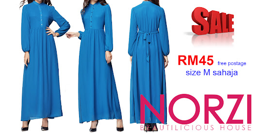RM45 FREE POSTAGE JUBAH MATERNITY NBH0268