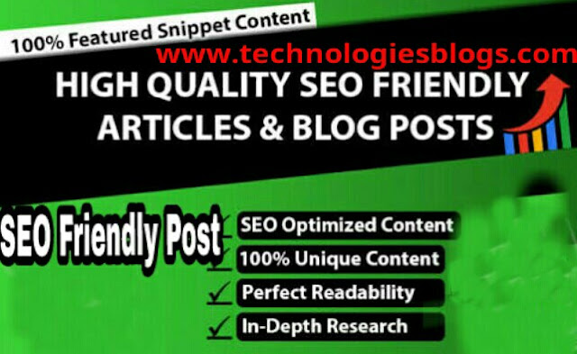How to write a SEO friendly blog post - step by step tutorial[2020]