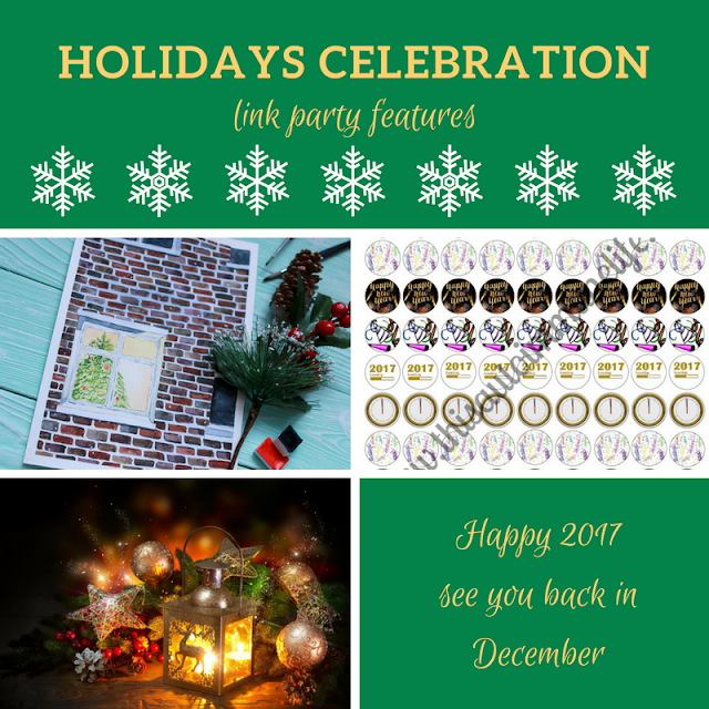 Holidays Celebration Link Party #5 - the features