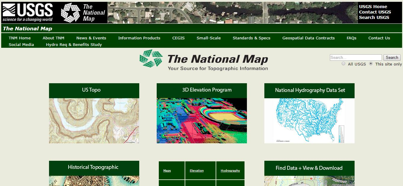 UpFront with NGS: The National Map and Its New Mapping Editor for ...