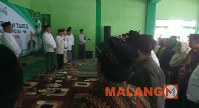 Ada Sumpah/Ikrar Caleg PKB di Acara Harlah NU Kabupaten Malang
