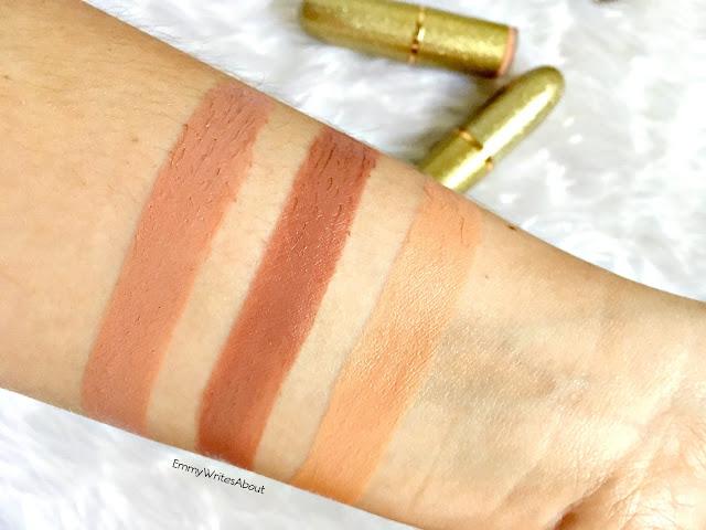 Makeup Revolution Life On The Dance Floor Lipstick Swatches