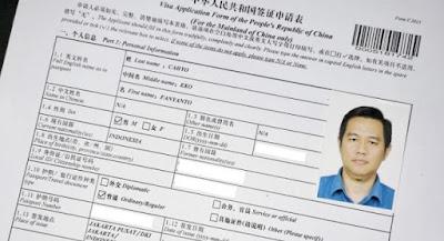 agen jasa pengurusan visa china