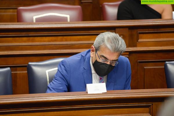 Rodríguez llama a la unidad para defender los derechos de Canarias ante el Estado y la UE