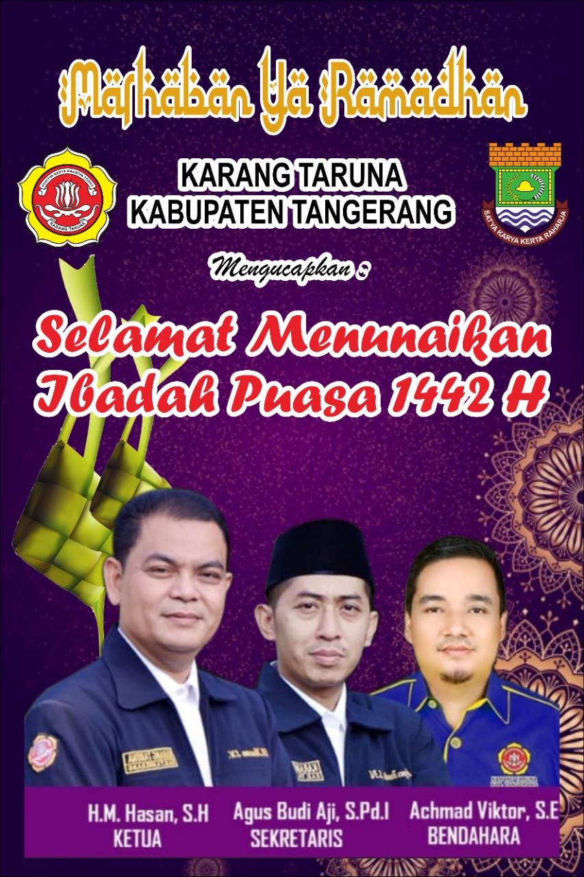 "Katar Kabupaten Tangerang Ucapkan "" Marhaban Ya Ramadhan 1442"""