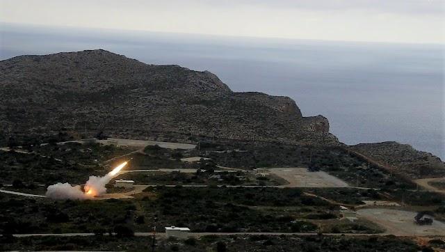 Κρήτη: Εντυπωσιακές ΦΩΤΟ-ΒΙΝΤΕΟ από τις Πολυεθνικές Βολές «Κ/Β PATRIOT» στο ΠΒΚ