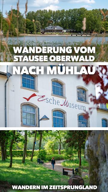 Wanderung im Zeitsprungland   Vom Stausee Oberwald nach Mühlau   Wandern in Sachsen   Tourismusregion Zwickau 20