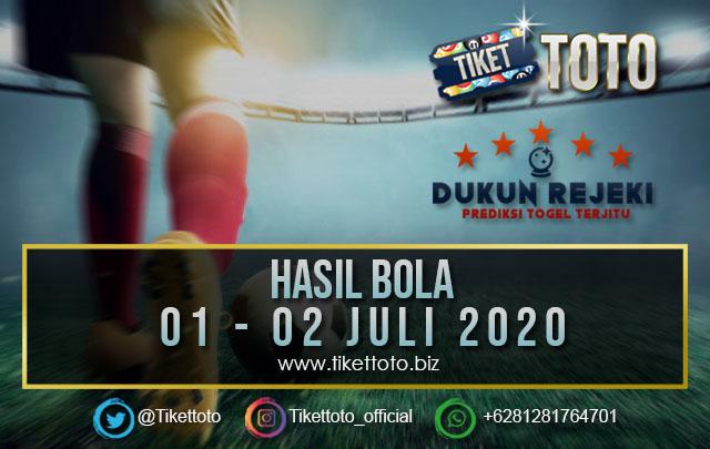 HASIL PERTANDINGAN BOLA 01 – 0 2 JULI 2020