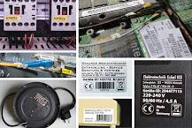 Hitzebeständige Elektro-Kennzeichnung