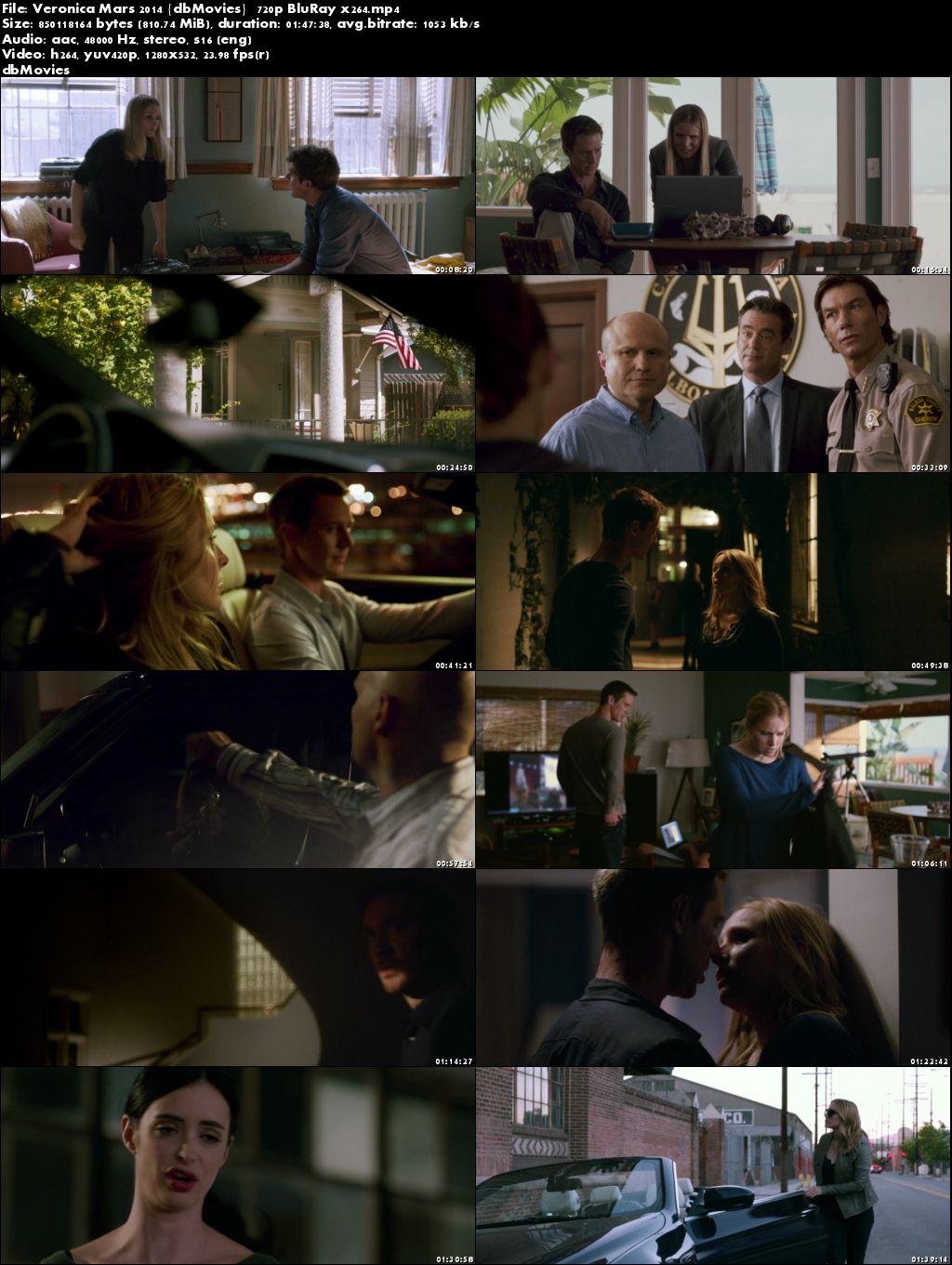 Screen Shots Veronica Mars 2014 Full Movie Download in English HD 720p