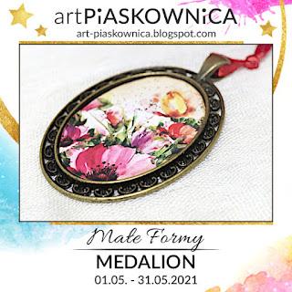 MAŁE FORMY - medalion