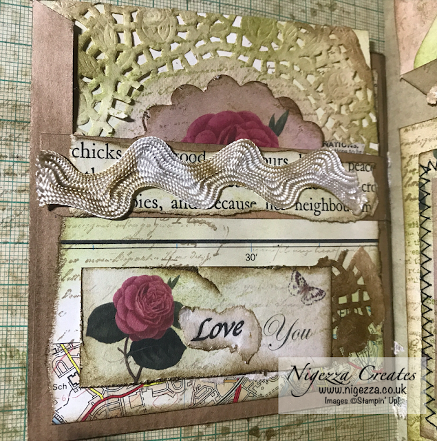 Nigezza Creates My First Junk Journal: Decorating Envelope Page Insert