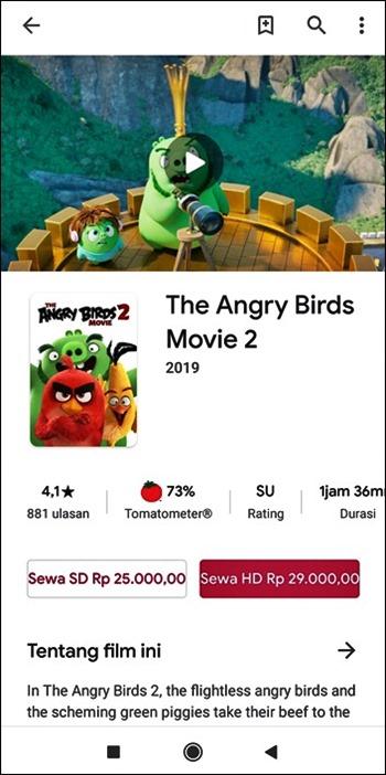 Sewa film animasi pakai GoPay