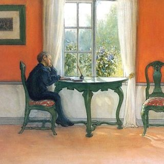 Required Reading by Carl Larsson