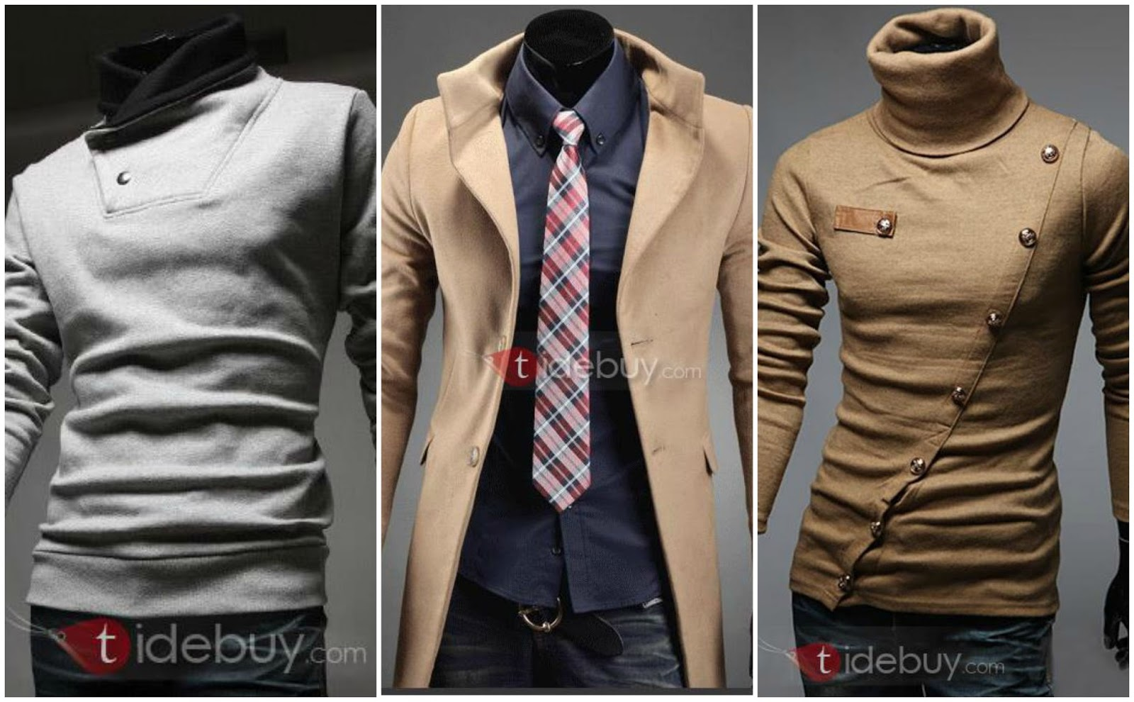 Stylish Men's clothing from Tidebuy.com