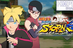 Free download File for Unlocked Boruto and Sarada Game Naruto Ultimate Ninja Storm 4