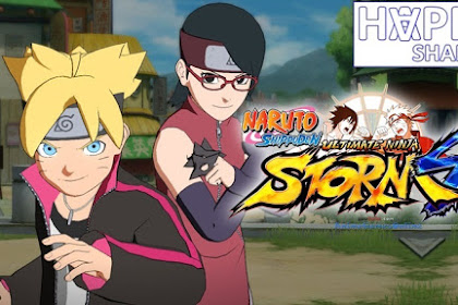 Free download File for Unlocked Boruto and Sarada Game Naruto Ultimate Ninja Storm 4