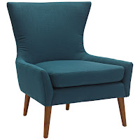 Modway Keen Collection Fabric Side Chair
