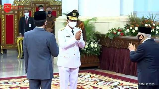 Gubernur Kepri Positif Covid-19, Bagaimana Nasib Presiden Jokowi?