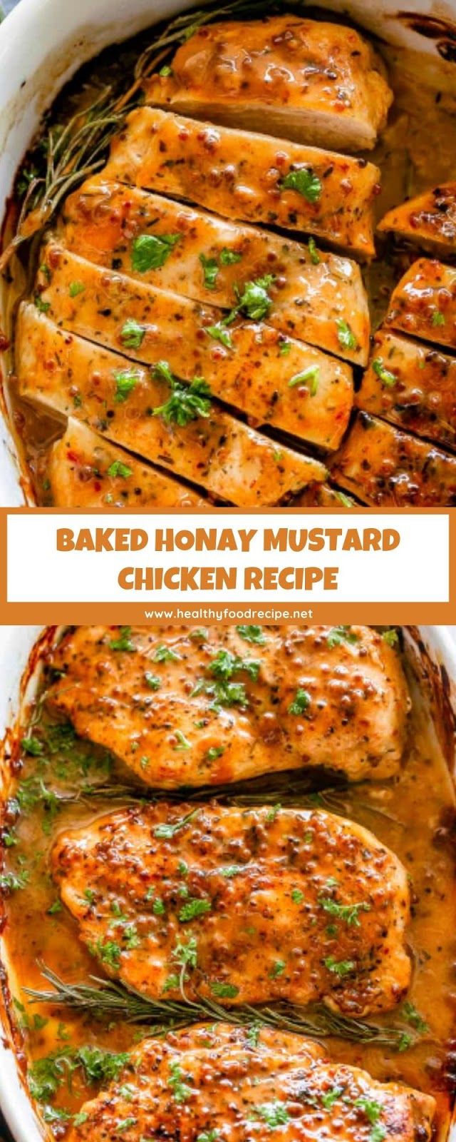 BAKED HONAY MUSTARD CHICKEN RECIPE