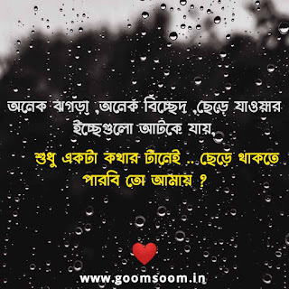 bengali quotation of love
