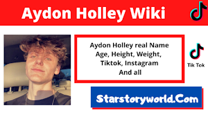 Aydon Holley [TikTok Star] Wiki, Biography, Age, Girlfriend, Facts and More