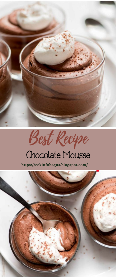 Chocolate Mousse #desserts #cakerecipe #chocolate