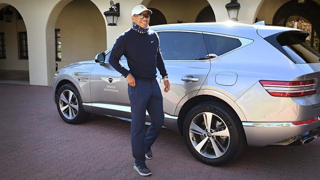 Tiger Woods Genesis Car