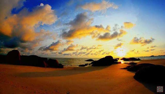 Menikmati Keindahan Pantai Rambak Di Pulau Bangka  MENIKMATI KEINDAHAN PANTAI RAMBAK DI PULAU BANGKA