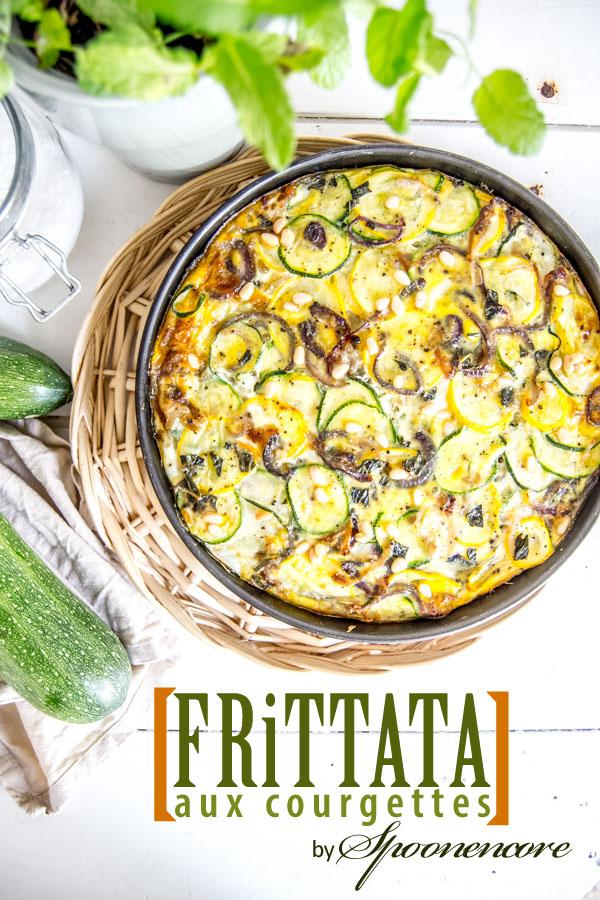 recette frittata courgette blog spoonencore