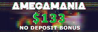 AMEGA - AMEGAMANIA $133 Forex No Deposit Bonus