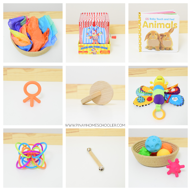 Montessori Baby Toys for 3 to 6 Months