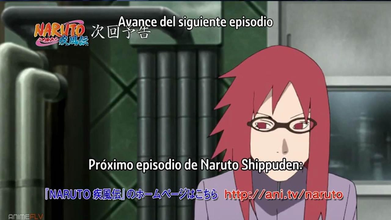 Naruto Shippuden cap 485 sub español