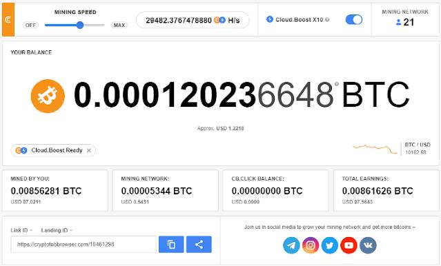 crypto tap browser تعديت بيتكوين