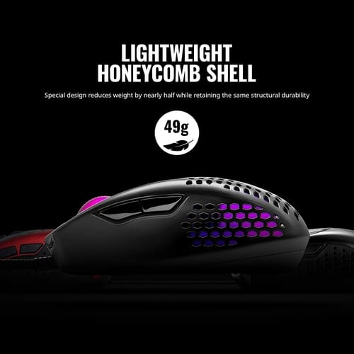Review Cooler Master MM720 Lightweight Gaming Mouse