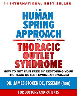 The Human Spring Approach to Thoracic Outlet Syndrome: How to Get Pain Free by Restoring Your Thoracic Outlet Spring Mechanism Human Spring Book promo