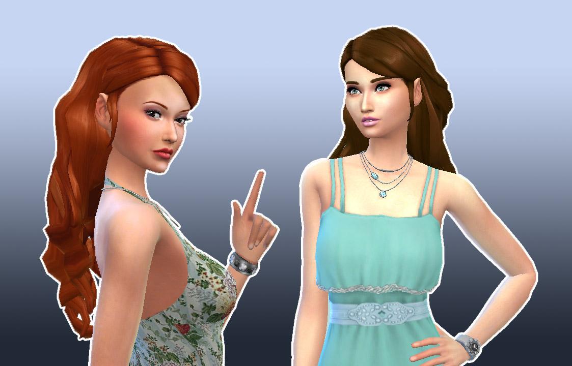 Curly Sims 4 Hair Maxis Cc Match