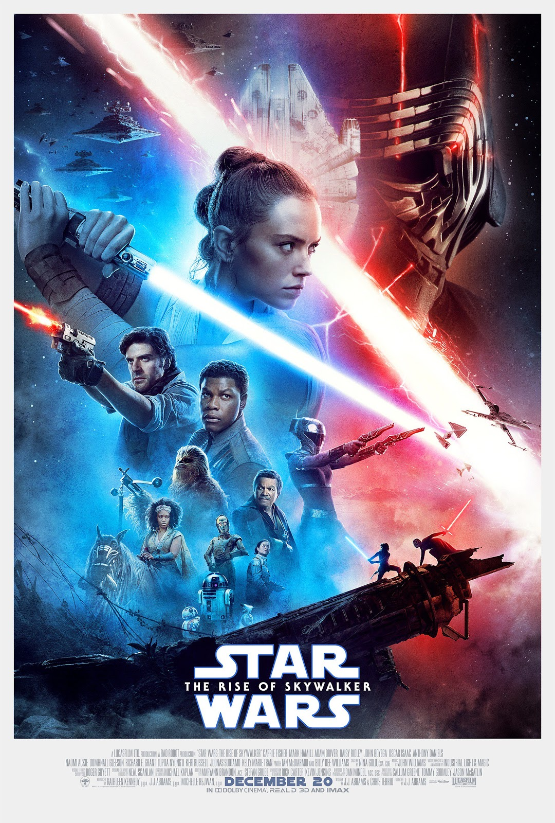 Star Wars The Rise of Skywalker theatrical poster
