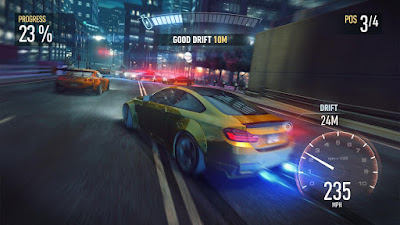 Tampilan Game Need for Speed™ No Limits