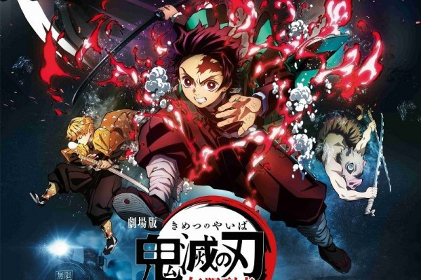 Ungkap Poster Baru, Film Kimetsu No Yaiba Akan Hadir Bulan Oktober