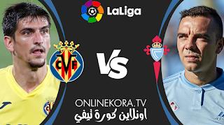 مشاهدة مباراة فياريال وسيلتا فيغو بث مباشر اليوم 09-05-2021 في الدوري الإسباني