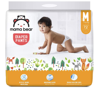 AMAZON MAMA BABY BEAR DIAPER PANTS