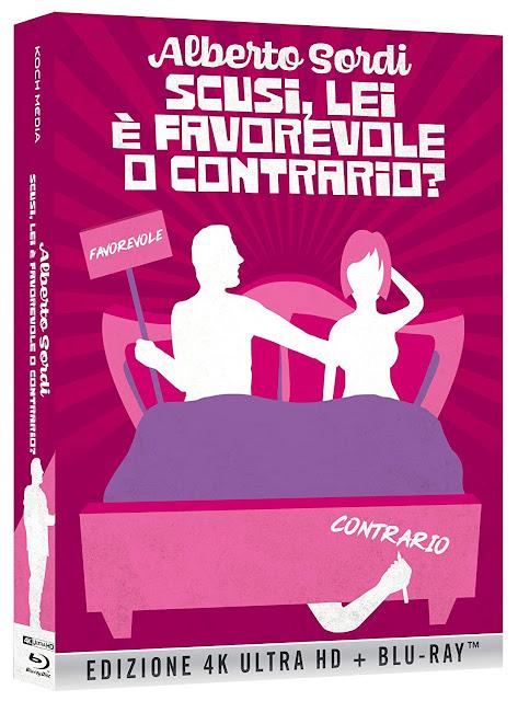 Scusi, Lei E' Favorevole O Contrario? Blu-Ray