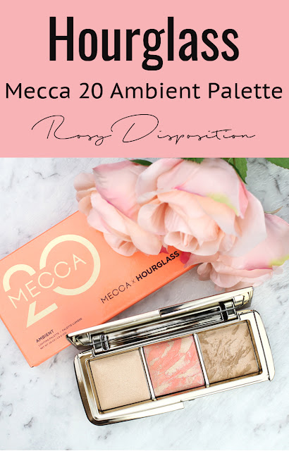 Hourglass Mecca 20 Ambient Lighting Palette Ambient Lighting Powder Luminous Light Blush Mecca Birthday Glow Bronzer Luminous Bronze Light review swatch swatches