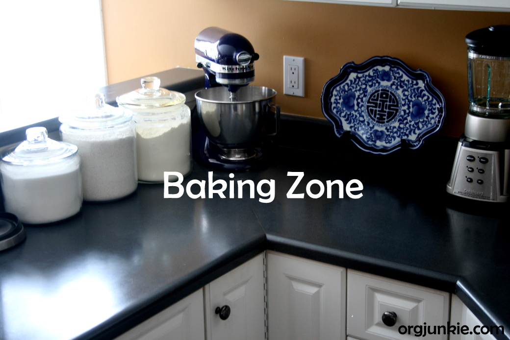 Organizing Baking Supplies in the Kitchen